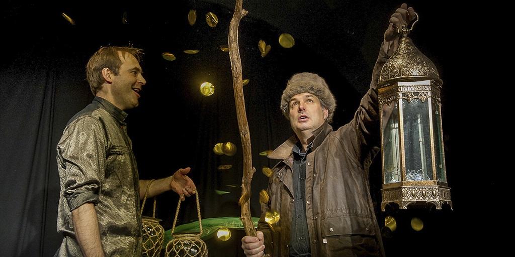 Szenenfoto mit Martin Huber (links) und Dietmar Blume